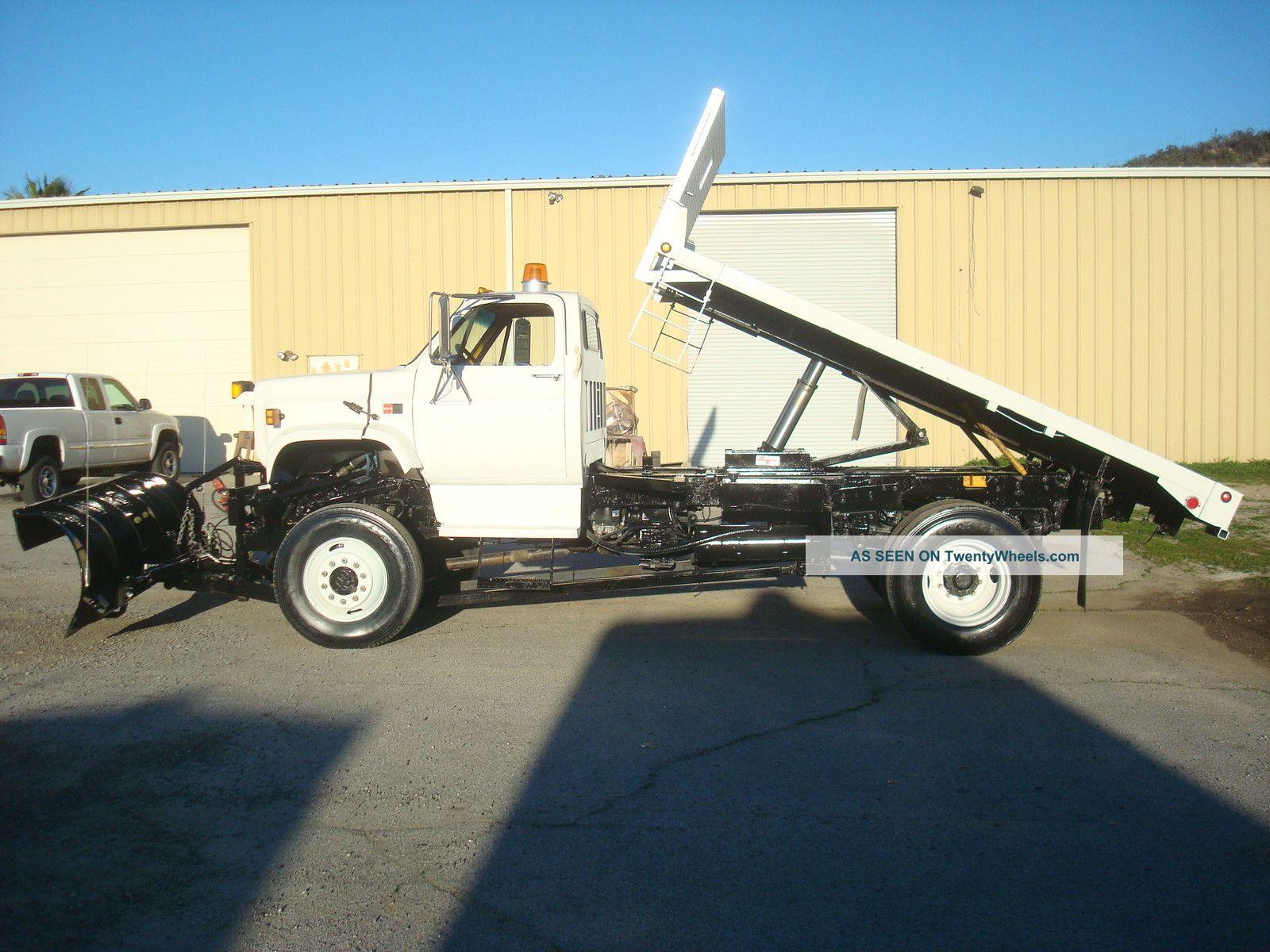 1989 Gmc sierra 7000 single axle dump truck