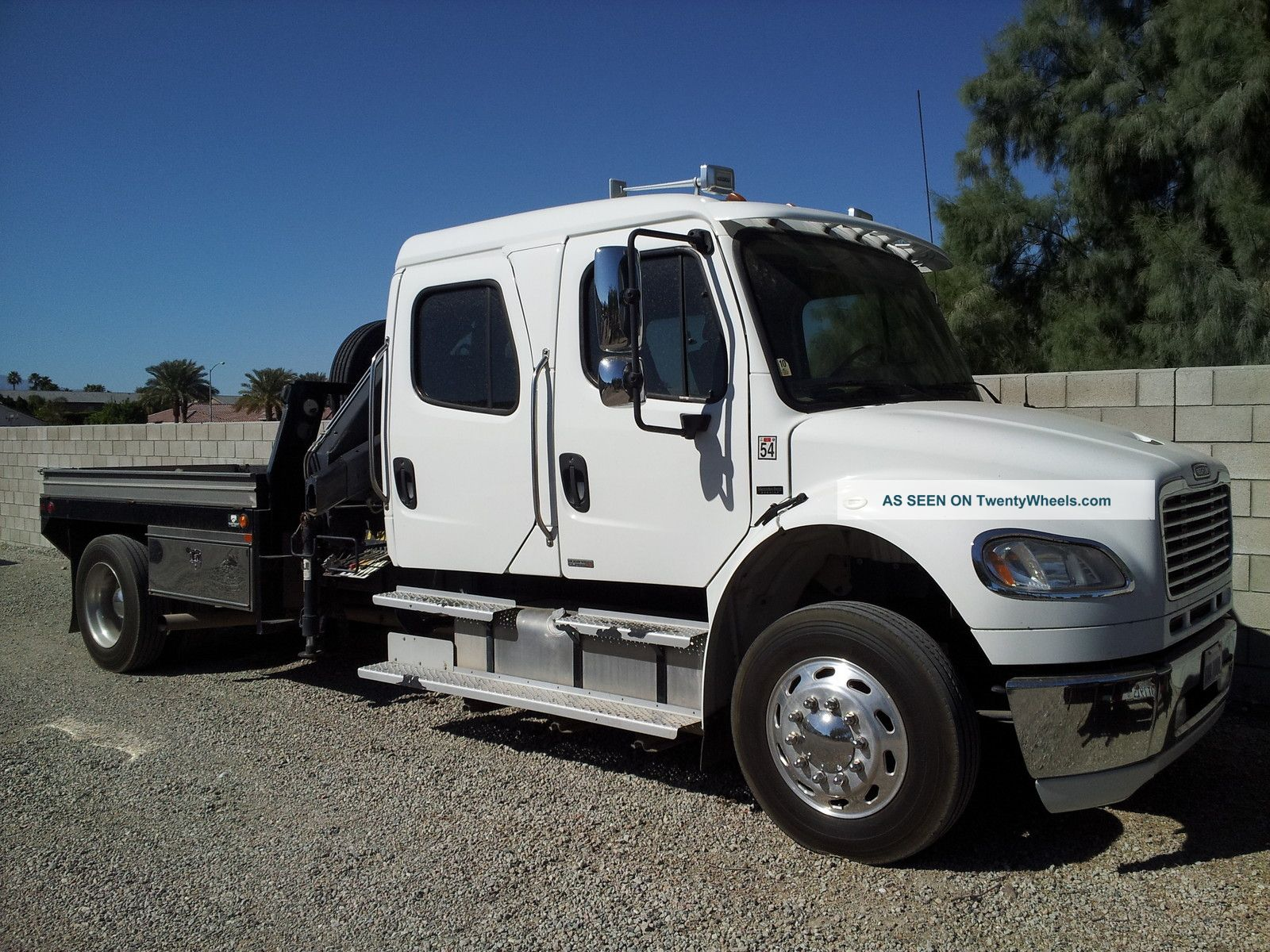 2007 freightliner with mercedes engine for Freightliner mercedes benz
