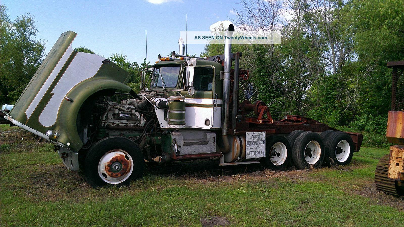 1979 Kenworth Daycab Semi Trucks photo