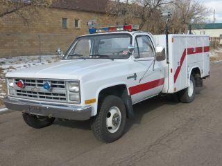 1986 Chevrolet K30 photo