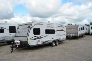 2013 Jayco Jay Feather X23b All New Exterior For 2013 photo
