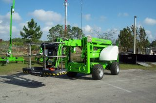 Nifty Sd64 70 ' Boom Lift,  4wd,  Only Weighs 8700 Lbs,  4 Wheel Steer,  Crab Steer,  New photo