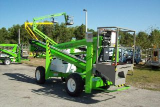 Nifty Sd50 56 ' Boom Lift,  4 Wheel Drive,  Diesel,  Only Weighs 6000 Lbs, photo
