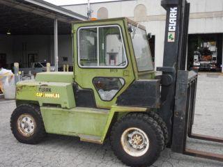 Clark C500 Y110d Diesel Forklift photo