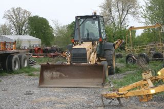 1992 Ford 555c Backhoe photo