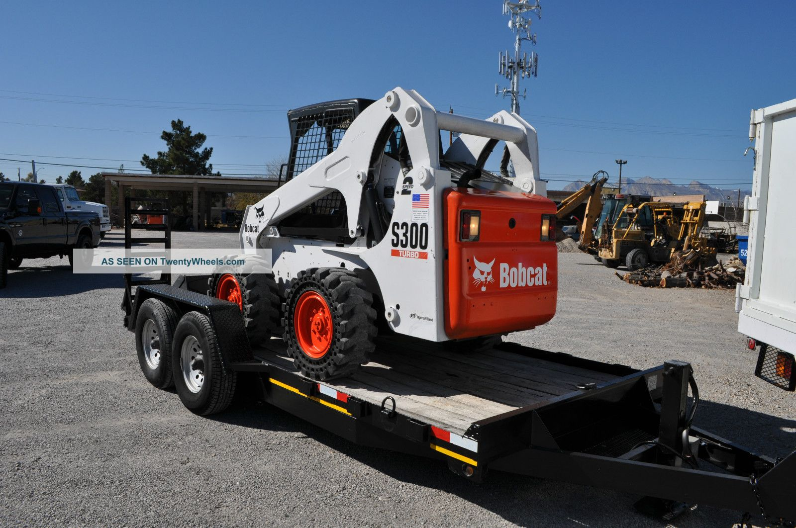 Bobcat Skid Steer Seat : Bobcat skid steer loader s spd suspension seat