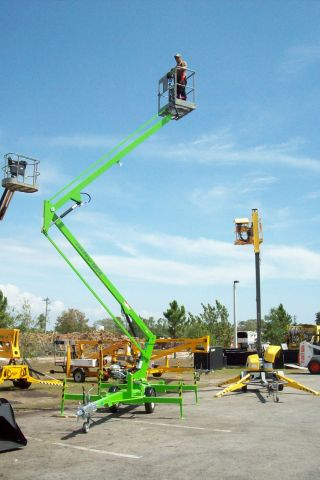 Nifty Tm34 40 ' Boom Lift,  Honda Power,  New 2013s Lowest Priced New Lift Made Today photo