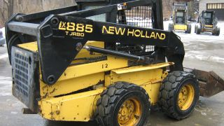 1996 New Holland Lx885 Skid Steer Only 628 Hours Hi - Flow photo