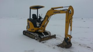 2008 Komatsu Pc27mr - 2 Mini Excavator Track Hoe Tractor Diesel Machine Loader. . photo