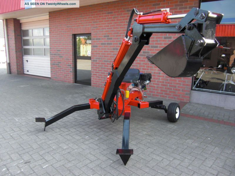 Mini Backhoe,  Mini Excavator,  Trench Digger,  New 9