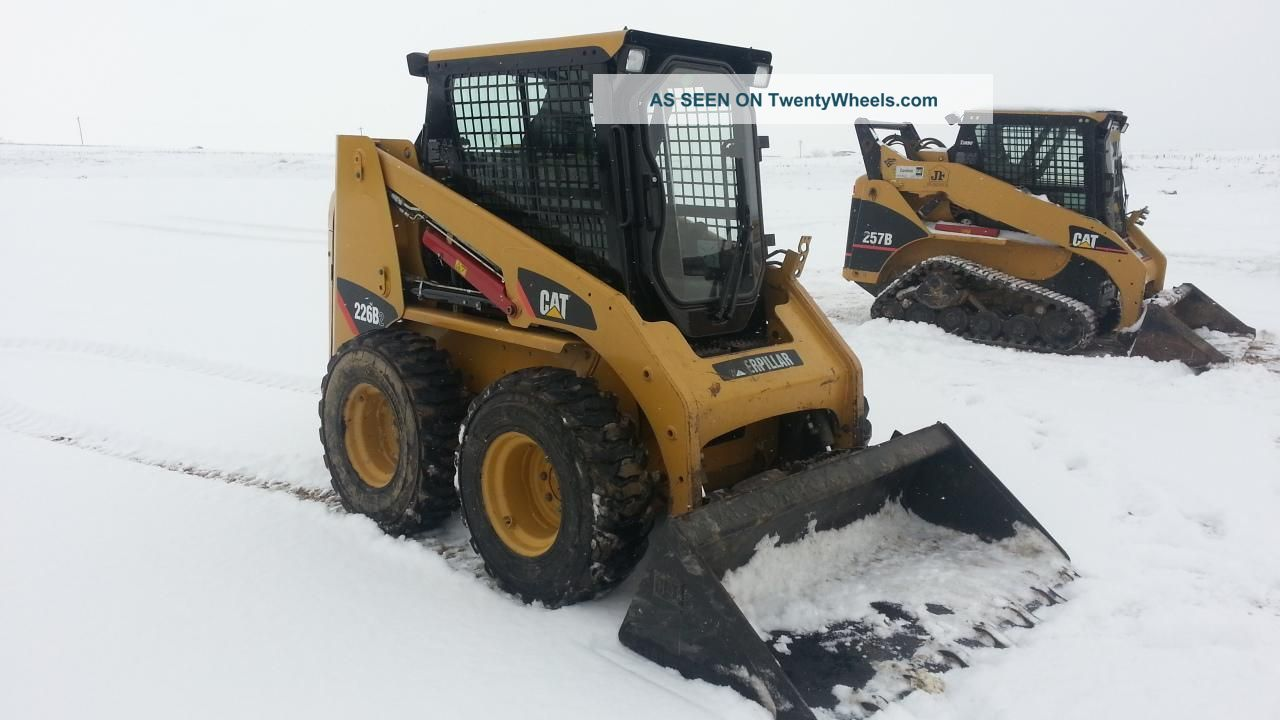 2008 Cat Caterpillar 226b Skid Steer Loader Diesel Cab, Heat