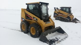 2008 Cat Caterpillar 226b Skid Steer Loader Diesel Cab,  Heat,  Air,  Quick Attach. . photo