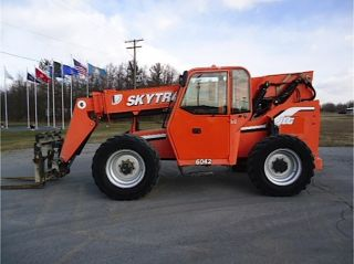 2006 Skytrak 6042 Telescopic Forklift Telehandler Genie Jlg Lull Reach Fork photo