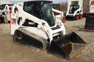 Bobcat T190 Track Loader 531613190 Cab & Heat photo