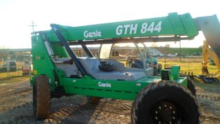 2006 Genie Gth - 844 Telescopic Forklift Foam Filled Tires photo