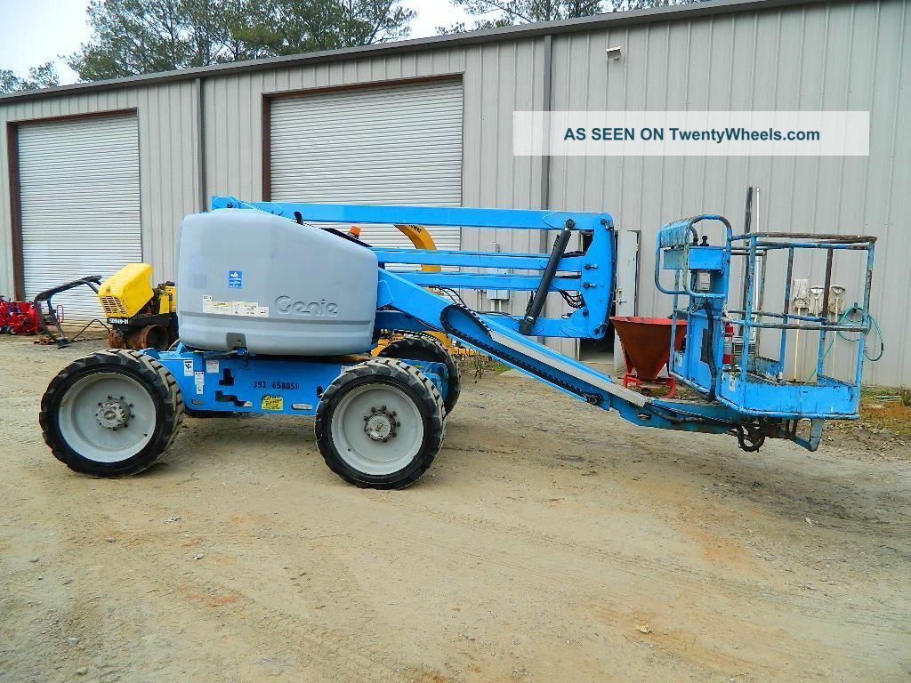 2004 Genie Z - 45/25 Aerial Boomlift / Manlift 4wd Dual Fuel Man Lift Boom Lift Lifts photo