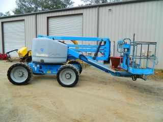 2004 Genie Z - 45/25 Aerial Boomlift / Manlift 4wd Dual Fuel Man Lift Boom Lift photo