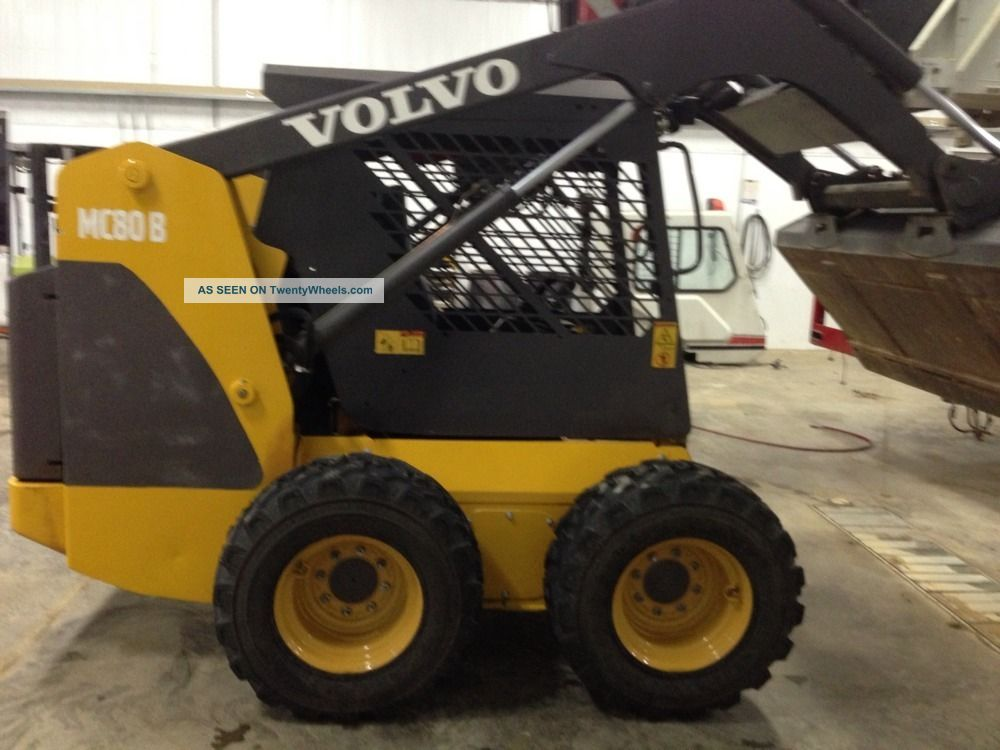 Volvo Mc80b Skidloader Skid Steer Loaders photo