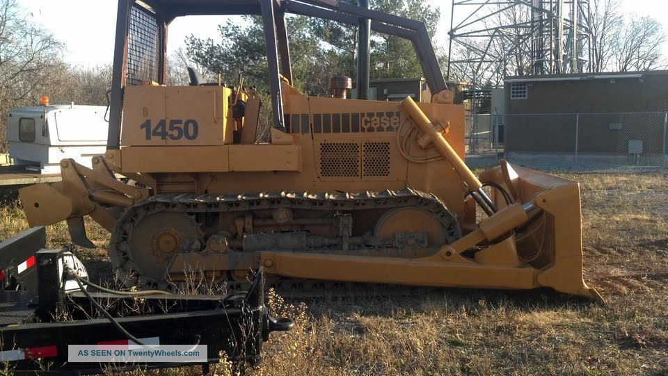 Case 1450b Dozer With Ripper Crawler Dozers & Loaders photo