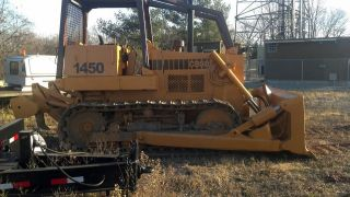 Case 1450b Dozer With Ripper photo