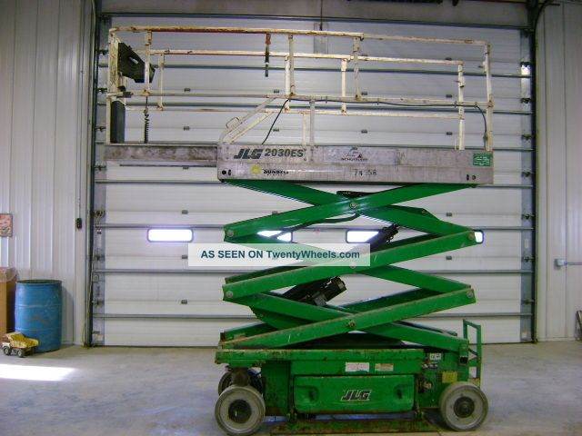 2006 Jlg 2030es Electric Scissor Lift Platform Scissorlift Genie Skyjack Lifts photo