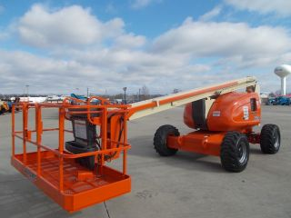Jlg 600a Aerial Articulating Manlift Boom Lift Man Boomlift Fresh Paint/service photo