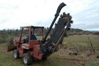 Ditch Witch Trencher photo