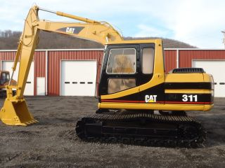 1994 Caterpillar 311 Excavator 10ft Stick Good U/c Ready To Work Right Off Job photo