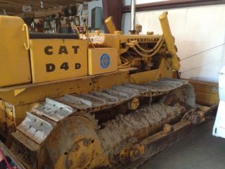 Caterpillar D4d Bulldozer 1775 Hours 1965 photo