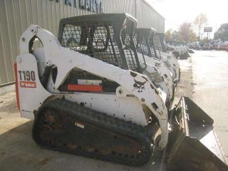2006 Bobcat T190 Track Loader,  2427 Hrs,  Open Cab,  Std Controls, photo