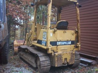 Caterpillar Cat Track Loader New Steering Discs Everything Works photo