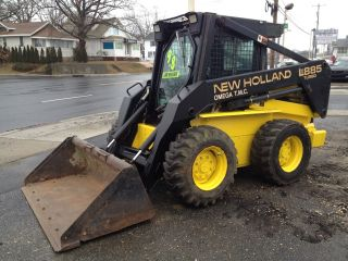1998 New Holland Lx885 Turbo Skid Steer Loader With Only 300 Hours photo