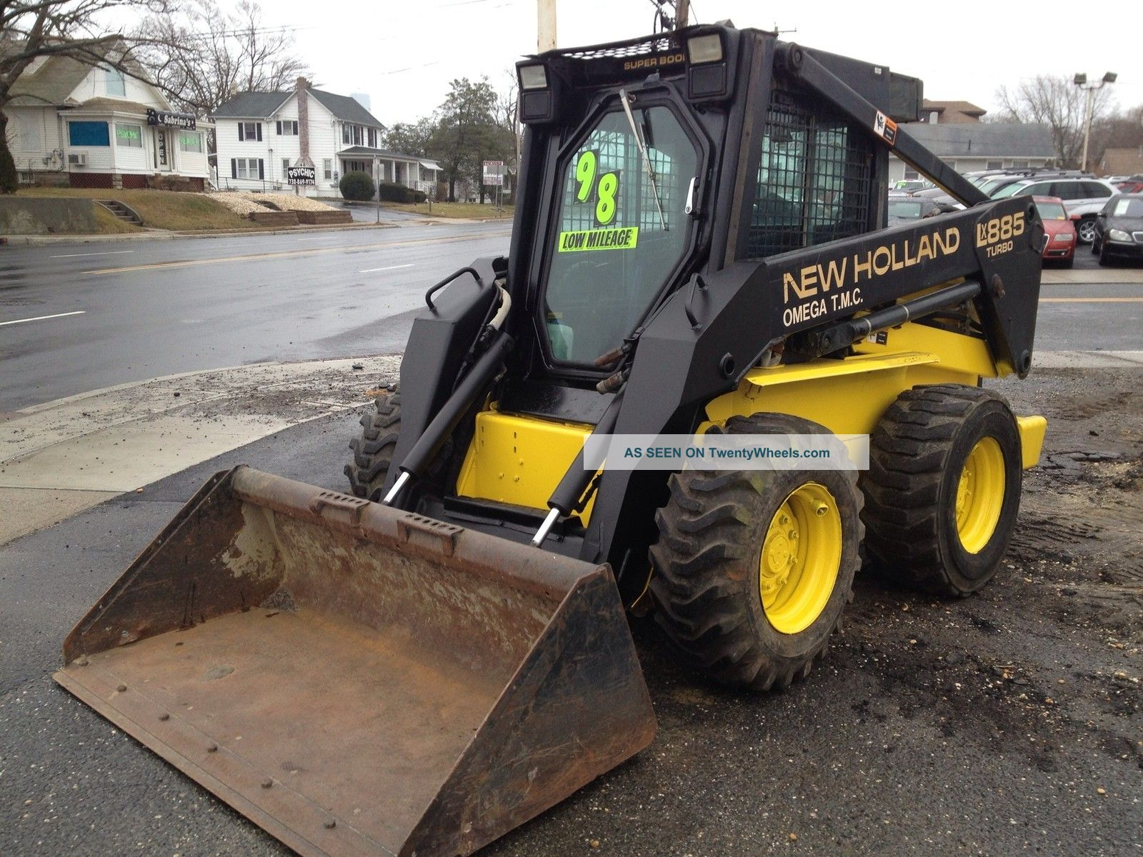1998 New Holland Lx885 Turbo Skid Steer Loader With Only 300 Hours Fuse Box Diagram