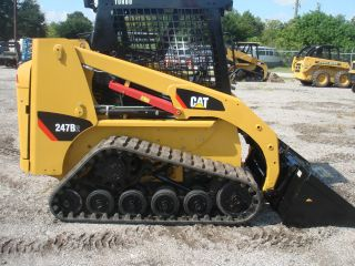 2008 Caterpillar 247b Series Ii Track Loader photo