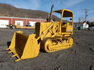 1987 John Deere 555b Track Loader Dozer 4 - N - 1 Bucket Good U/carriage 5500 Hours photo