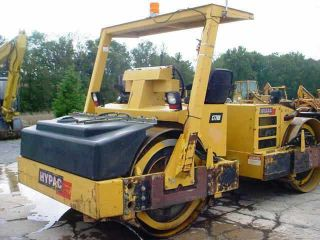 1999 Hypac C778b Vibratory Double Smooth Drum Roller Compactor In Good Cond. photo