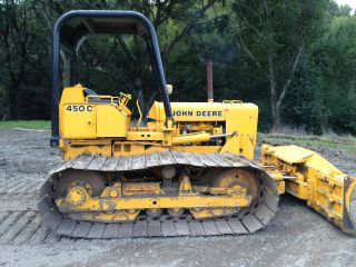 1981 John Deere 450 Cc Dozer Lgp $12,  500 Buy Now Pick Up Only Nor Cal photo