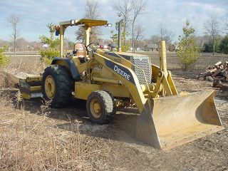 2005 John Deere 210 Le 4x4 Skip Loader W/boxblade 2284 Low Hrs. photo