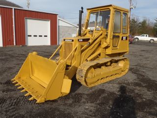 Caterpillar 931b Track Loader Dozer 4 - N - 1 Bucket Full Cab Good U/carriage photo