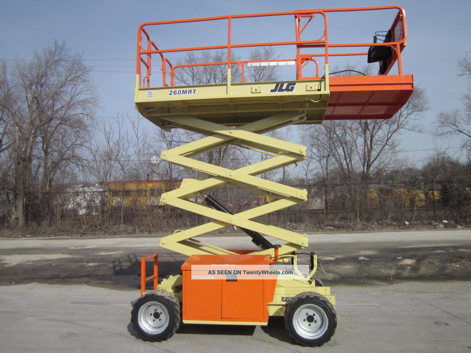 2004 Jlg 260mrt 4x4 Scissor Lift Manlift Boom Aerial
