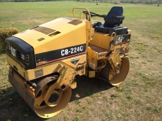1997 Caterpillar Cb - 224c Smooth 47