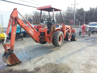 Kubota Tractor Loader Backhoe Model L35 photo