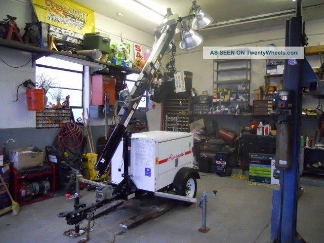 Magnum Mlt3060 Light Tower Diesel Generator Highway Lights Mobile Lighting 2008 Other photo