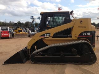 Cat Caterpillar 277b Power Bucket Release Track Skid Steer Loader Cab Air Heat photo