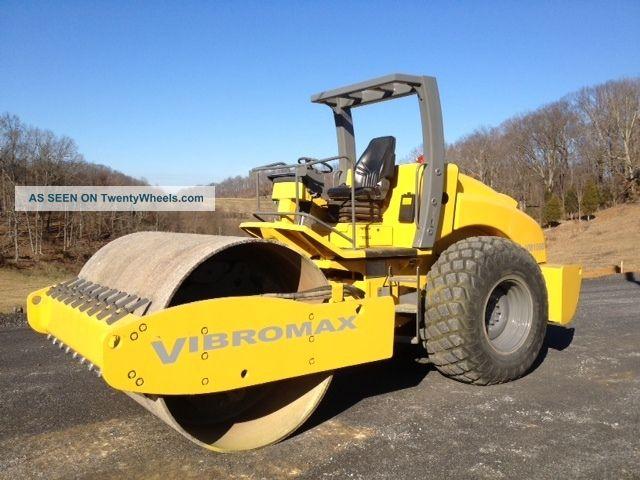 Terra Compactor Wheels : Vibromax roller