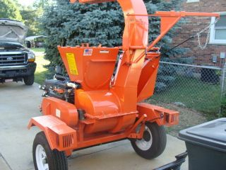 Salsco 625n Chipper Leaf Vac Vaccum Straw Blower Excelent Condition photo