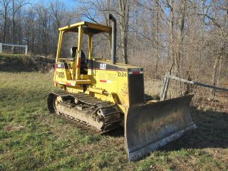 Cat D4c Dozer 6 - Way Blade. photo