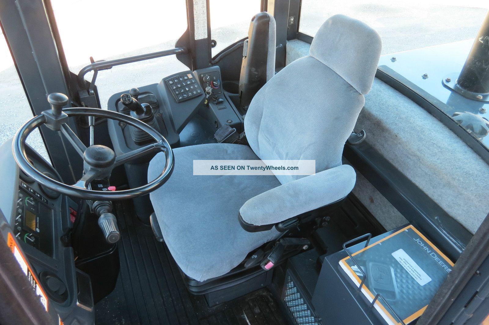 John Deere Jd 544j Wheel Loader 544 Cab A C Quick Coupler