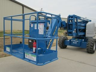 2000 Genie Z45/25j Aerial Manlift Articulating Boom Lift Man Boomlift Serviced photo