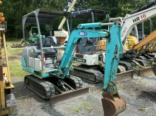 2004 Ihi 18j Mini Excavator Dozer Backhoe Rubber Tracks photo